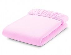 Bavlněné prostěradlo růžové s gumičkou