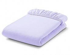 Bavlněné prostěradlo fialové s gumičkou