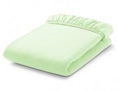 Bavlněné prostěradlo zelené s gumičkou