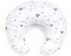 Kojící polštář pink heart