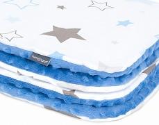 Deka modro-šedá stars