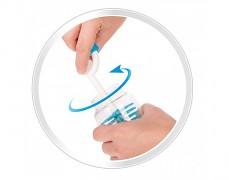 Kartáč gumový na čištění lahví