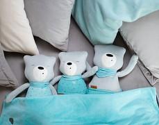 Rodinka šumících medvídků