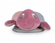 Plyšová svítící a hrající želva růžová SEA TURTLE
