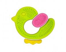 Chladivé kousátko tříbarevné kuře, zelená