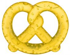Chladící kousátko preclík, žlutá