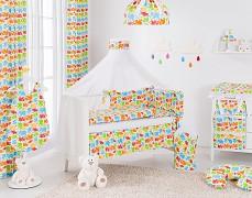 Vybavení dětské postýlky barevní sloníci