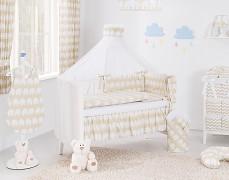 Vybavení dětské postýlky béžový slon ZigZag