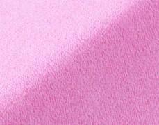 Froté prostěradlo růžové