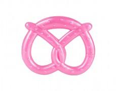 Elastické kousátko růžový preclík