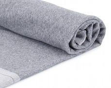 Lehká bavlněná deka šedá