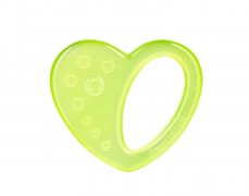 Chladící kousátko srdíčko, zelená