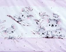 Dětské povlečení růžová Koalky