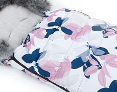Fusak růžové losty s šedým kožíškem