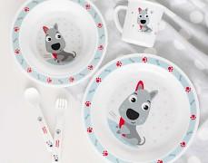Dětské plastové nádobí Cute Animals