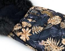 Fusak listy s černým kožíškem
