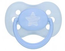 Kojenecké šidítko modré Pastels silikonové