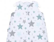 Dětský spací modrý starmix, s nohavičkou