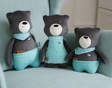 Rodinka šumících medvídků, Matt je nejmenší.