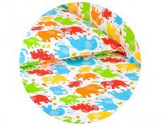 Dětské povlečení barevní sloníci