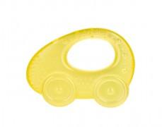 Chladivé kousátko autíčko, žlutá