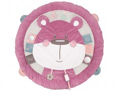 Hrací deka s hrazdičkou růžová