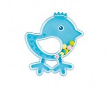 Chrastítko ptáček, modrá