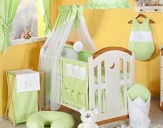Dětský pokojíček zelený Měsíc