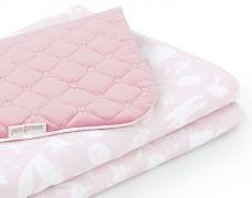 Dětská deka růžový les velvet