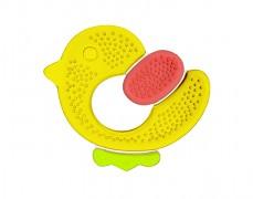 Chladivé kousátko tříbarevné kuře, žlutá