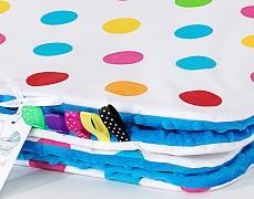 Deka barevné puntíky