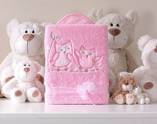 Dečka růžové sovky POLAR LUX