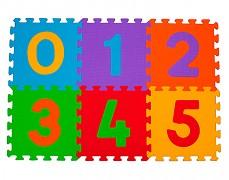 Pěnové puzzle -čísla 6ks
