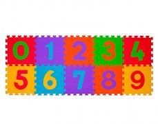 Pěnové puzzle -čísla 10ks