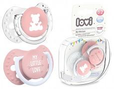 Dudlíky LITTLE LOVE růžová 2ks