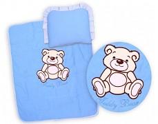 Set modrý Teddy Bear