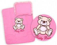 Set růžový Teddy Bear