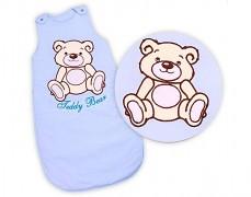 Dětský spací pytel modrý Teddy Bear