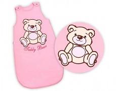Dětský spací pytel růžový Teddy Bear