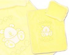 Set žlutý velur Happy Bear