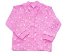 Kabátek růžový s ovečkami vel.86