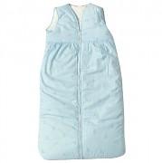 Dětský spací pytel modrý s obláčky