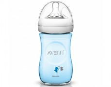 Lahev Avent Natural modrá 260ml