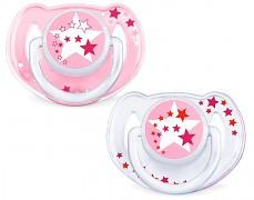 Šidítka růžová STARS 6-18m