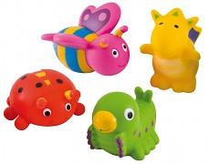 Hračky do vody Happy Garden 4ks
