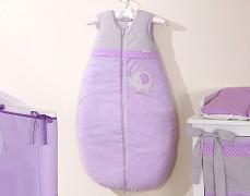 Dětský spací pytel fialové slůně