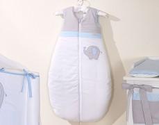 Dětský spací pytel modrý slon