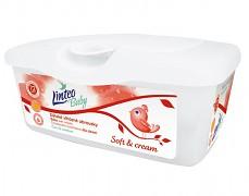 Vlhčené ubrousky Soft and Cream 72ks v boxu