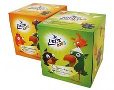 Papírové kapesníky Linteo Kids BOX 80ks v boxu