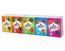 Papírové kapesníky Linteo Kids MINI 10x10ks